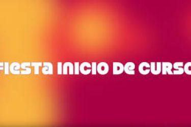 26/9: FIESTA FAMILIAR DE INICIO DE CURSO
